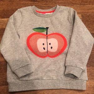 Little girls sweatshirt